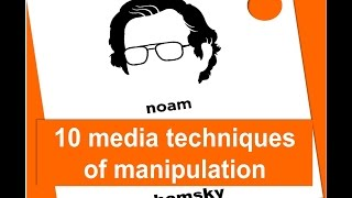 Download 10 Media manipulation strategies by Noam Chomsky Video