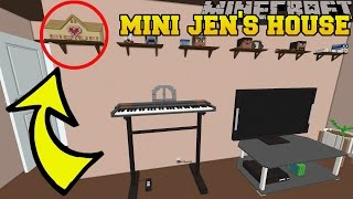 Download Minecraft: CAN YOU SPOT JEN'S MINI HOUSE?!? - Crack The Console - Custom Map [1] Video