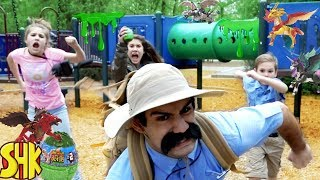 Download Noah's Beasts Save the Giant Slime Playground! | SuperHeroKids Video