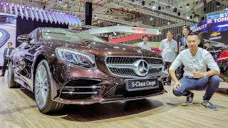 Download VMS 2018 - Sờ mó ″Hoa hậu″ triển lãm Mercedes S450 Coupe giá 6,2 tỷ đẹp tuyệt sắc Video