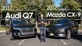 Download 2017 Mazda CX-9 Signature vs. 2017 Audi Q7   Comparison   Driving Reviews Video