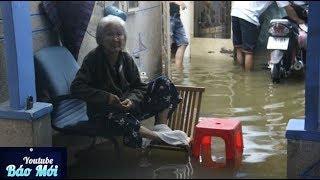 Download Người Sài Gòn khổ sở, kê ghế ngủ trong đêm nước ngập - Tin Tức Mới Video