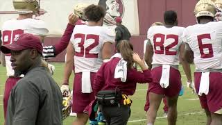 Download Florida State Seminoles football raw practice footage (11/14) Video