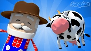 Download Old MacDonald Had A Farm   Cow   Nursery Rhyme   Kids Songs   Phonics   ESL   Happy   4K Video