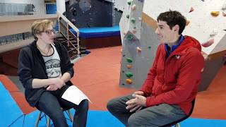 Download When Louis Parkinson met Alex Honnold: Recreating 'The Boulder Problem' at VauxWall Video