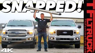 Download We Broke a Tuned Ford F-150 Drag Racing while Towing a Camper on a Dragstrip! Video