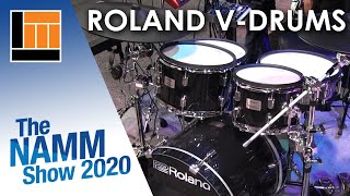 Download L&M @ NAMM 2020: Roland TD-27 + VAD506 Video