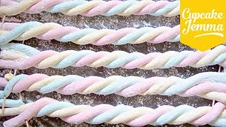 Download How to Make Flumps! AKA Colourful Marshmallow Ropes | Cupcake Jemma Video