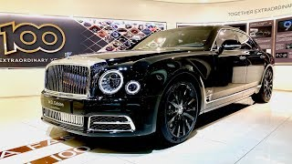 Download BENTLEY Mulsanne Mulliner - W.O. 100th - Full Review - Geneva Motor Show 2019 Video