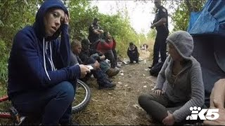 Download Busting up a heroin camp, with no arrests Video