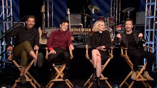 Download Bohemian Rhapsody interviews - Rami Malek, Lucy Boynton, Mazzello, Lee Video