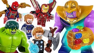 Download Marvel Lego Infinity War Avengers Hulk, Iron Man, Spider Man! Go! Defeat the Thanos! - DuDuPopTOY Video