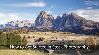 Download How to Get Started in Stock Photography Video