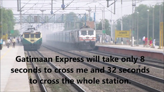 Download Brutal attack!! India's Top 2 Fastest train Bhopal Shatabdi Vs. Gatimaan Express. Video