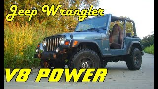 Download Stuffing a 5.2L V8 into a Jeep Wrangler - Project Introduction | V8 TJ Part 1 Video