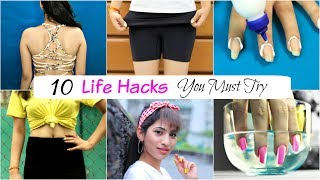 Download 10 Life & Beauty HACKS Every Girl MUST Try - College & School Girls | Anaysa Video