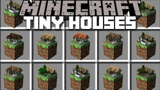 Download Minecraft MINIATURE HOUSE MOD / PLACE SMALL HOUSES IN MINECRAFT AND LIVE INSIDE THEM!! Minecraft Video
