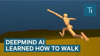 Download Google's DeepMind AI Just Taught Itself To Walk Video