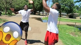 Download WHEN HOOPING IN THE HOOD! ACTUALLY GOES WRONG (SIDE OF THE ROAD) 1 VS 1 Basketball Video