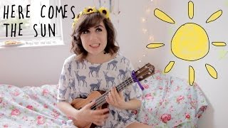 Download Here Comes The Sun - Ukulele Cover! Video