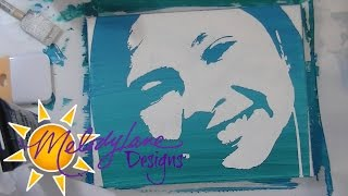 Download Stencil Painting with Cricut Explore Video