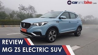 Download MG ZS Electric SUV First Drive Review | carandbike Video