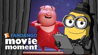 Download Minions At the Movies React to Sing - Fandango Movie Moment (2016) Video