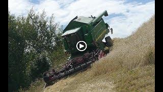 Download GROSSE PEUR !!! JOHN DEERE 9580I WTS 4x4 MOISSON DE L'EXTRÊME dans les Hautes-Alpes Video