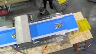 Download Food Inspection - AquaPruf Retractable Tail & Metal Detection Conveyor Video