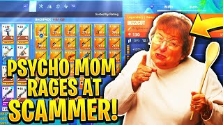 Download Pyscho Mom Rages At Scammer! (Scammer Gets Scammed) Fortnite Save The World Video