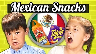 Download KIDS EAT MEXICAN SNACKS! | Kids Vs. Food Video