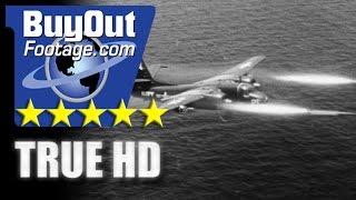 Download HD Historic Stock Footage AERIAL ANTI-SUBMARINE WARFARE Video