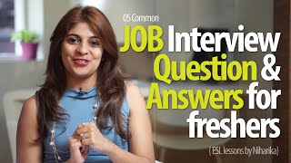 Download Job Interview Question & Answers for freshers - Free Job Interview tips & English Lessons Video