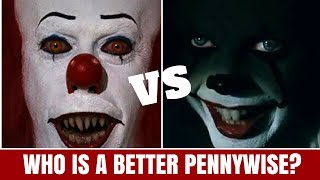 Download Who is the best Pennywise? Tim Curry Vs. Bill Skarsgård Video