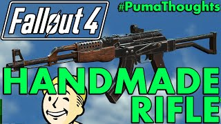 Download FALLOUT 4: Nuka World DLC - Handmade Rifle Weapon Analysis, Review and Location #PumaThoughts Video