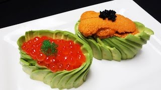 Download Exquisitely Prepared Uni and Ikura Sushi With A Twist - How To Make Sushi Series Video