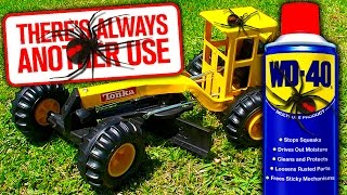 Download Deadly Redback Spiders On Tonka Toys Again WD40 Spider Control Test Video