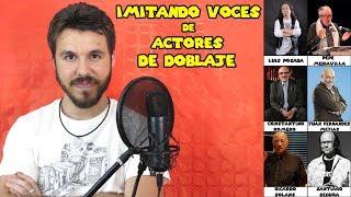 Download IMITANDO VOCES DE ACTORES DE DOBLAJE Video