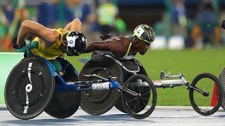 Download Athletics | Men's 5000m - T54 Final | Rio 2016 Paralympic Games Video