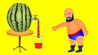 Download Bahubali family making juice finger family \\ bahubali finger family rhymes Video