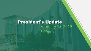 Download President's Update - February 2019 Video