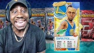 Download FINALLY PULLED LEGEND STEPH CURRY w/PERFECT 3 PT RATING! NBA Playgrounds Gameplay Ep. 18 Video