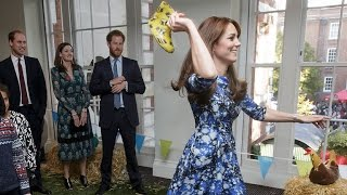 Download Kate Middleton Is Total Perfection at Event With William and Harry Video