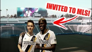 Download I GOT INVITED BY THE LA GALAXY (MLS INVITE) !! Video