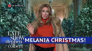 Download Melania Trump Is Dreaming Of A Dark Christmas Video