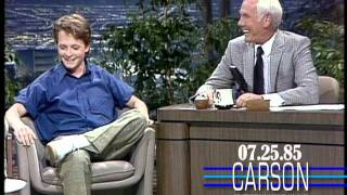 Download Michael J. Fox's First Appearance on Johnny Carson's Tonight Show- 1985 Video