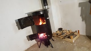 Download Homemade Budget STOVE for WORKSHOP !? Video