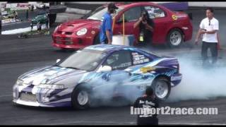Download Top 32 FWD Honda's Drag Racing Turbo Video