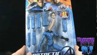 Download Toy Spot - Fantastic 4 Movie Series Mr. Fantastic figure Video