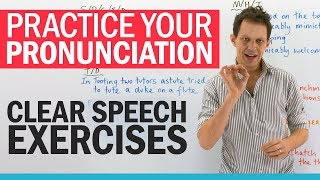 Download Mouth exercises for CLEAR SPEECH Video